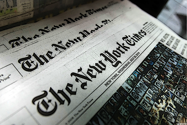 New York Times Reports Strong First-Quarter Earnings