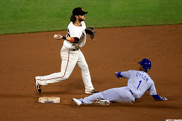 11. Kansas City Royals at San Francisco Giants
