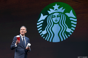 Starbucks' Howard Schultz Hints He's Too Old to Run a Coffee Business Packed With Millennials