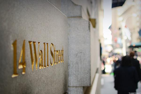 Financials Drag Wall Street Lower Putting Dow's Record Streak in Jeopardy