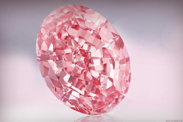 Diamond in the Rough: Sotheby's Sells 'Pink Star' for $71.2 Million
