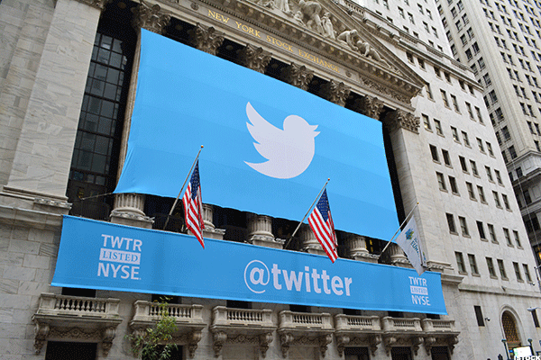 Twitter's Stock Surges on Positive Feedback from Advertisers