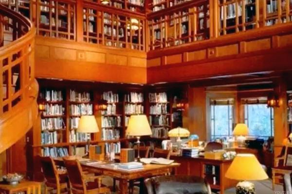 Bill Gates' Library