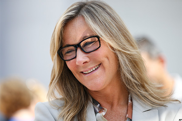 Apple retail chief Angela Ahrendts.