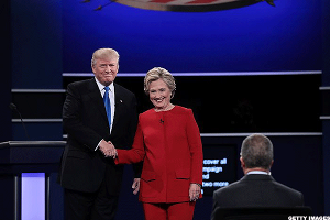 Preparation Pays Off for Clinton, Trump on Defensive at First Presidential Debate