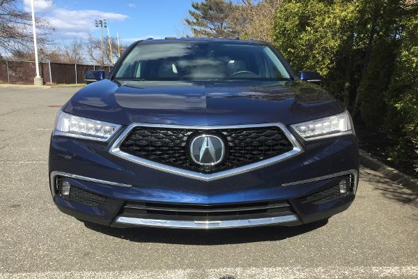 The MDX's new front grille has received mixed reviews. But, we thought it offered the aggressiveness the SUV needed.