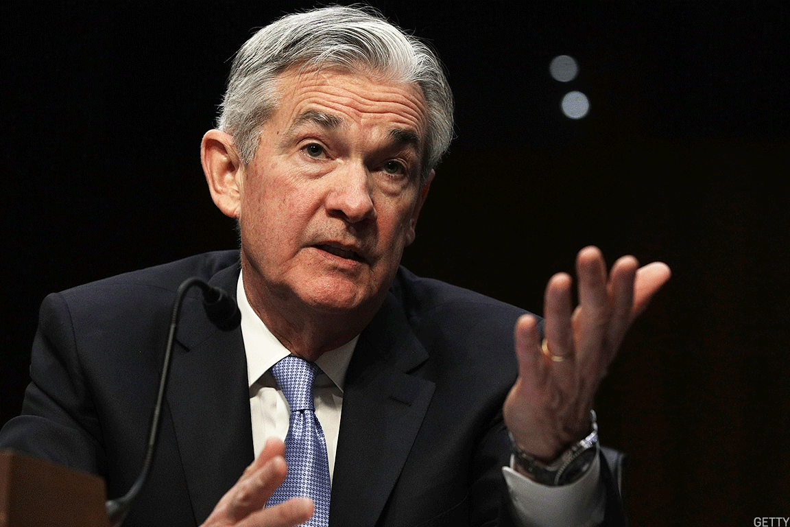 Bank stocks rallied on Fed nominee Jerome Powell's congressional testimony this week.