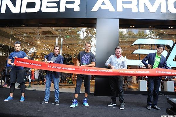 Under Armour, Home Depot Close Lower as Consumer Goods Sell Off