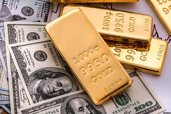 Goldcorp (GG) Stock Down as Gold Prices Slide