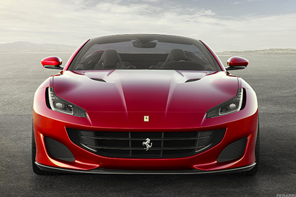 Ferrari's Portofino was the company's strongest seller in the first three months of 2019. Source: Ferrari