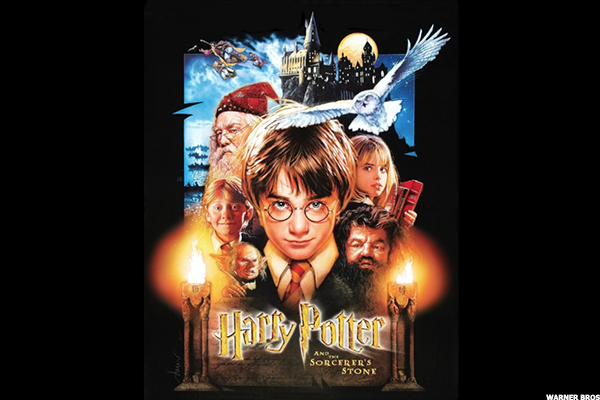 4. Harry Potter and the Sorcerer's Stone