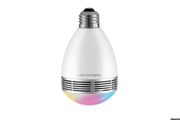 21. LIGHTSTORY Bluetooth Speaker Smart Bulb