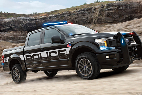 Ford's New F150 Police Truck Will Easily Chase You Down on Highway