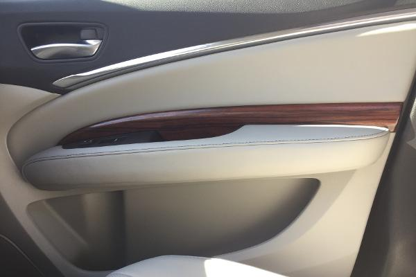 Acura also needs to step it up a notch with its trim package. The wood trim felt out of place in the somewhat sporty MDX and lacking in the quality for a luxury auto.