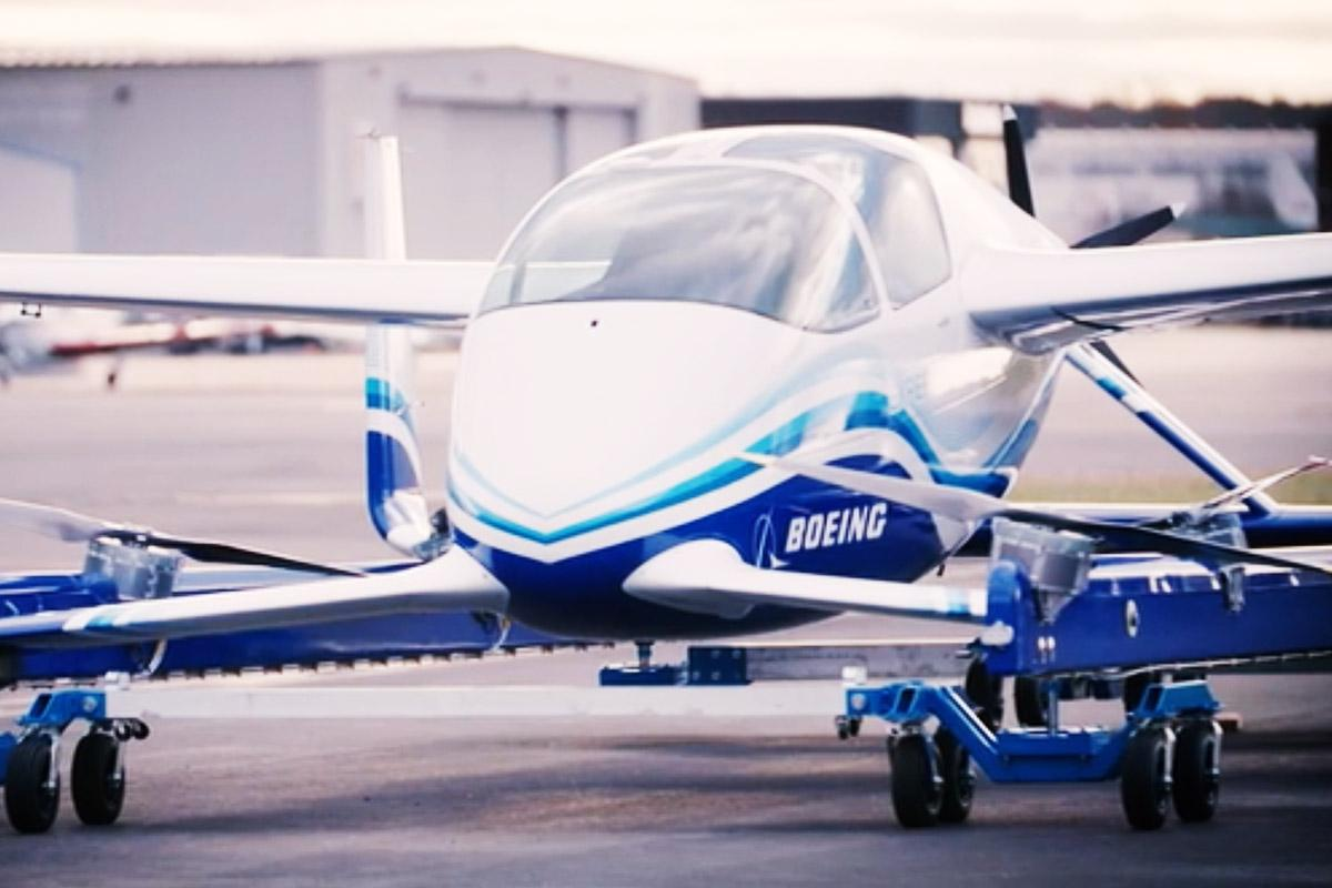 Boeing and Porsche Team Up to Explore Urban Flying Vehicles
