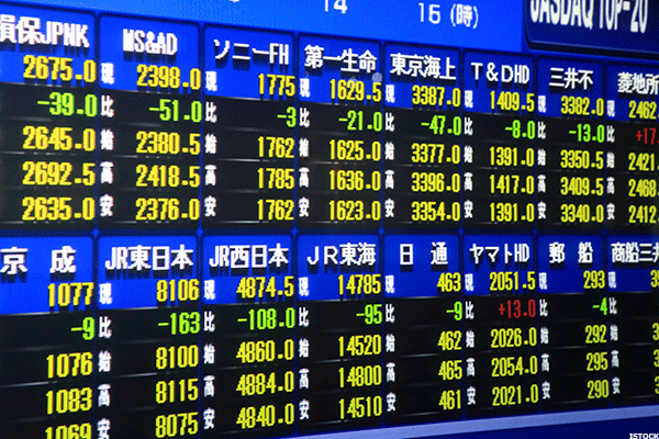 Asian Markets Mixed; Japanese Banks Fall on BoJ Worries