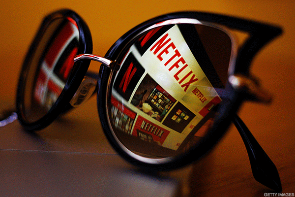 Netflix Shares Jump as Expectations Run High for First Quarter Earnings