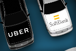 SoftBank's Investment in Uber Puts Spotlight on Huge Auto Industry Bet