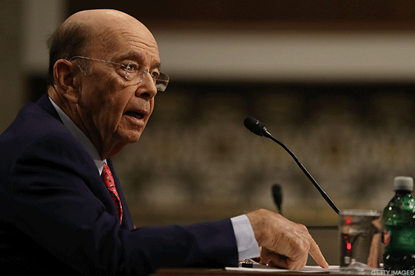Peso Climbs After Commerce Secretary Wilbur Ross Anticipates 'Sensible Trade Agreement' With Mexico