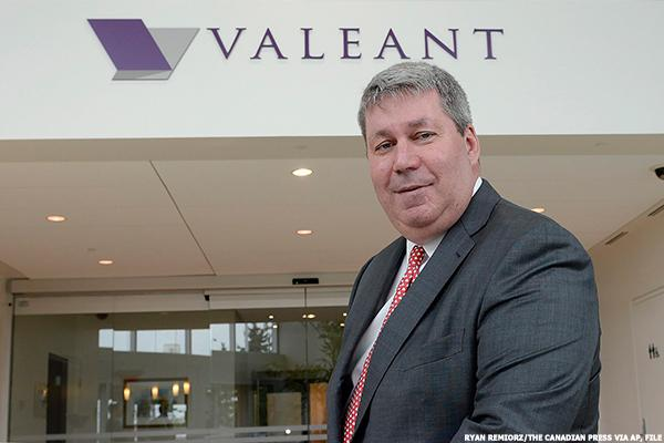 Former Valeant CEO Files Suit Against the Company