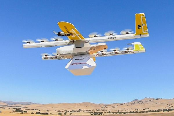Walgreens Testing On-Demand Drone Delivery with Alphabet's Wing Aviation