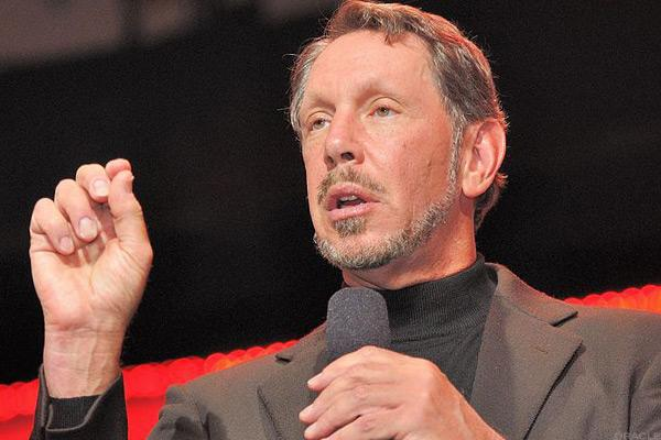 Oracle's Larry Ellison.