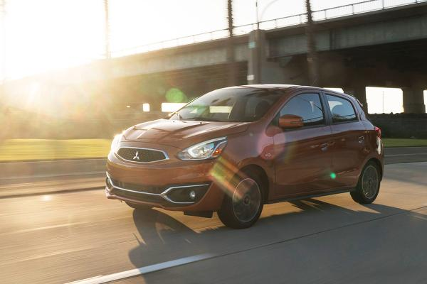 2019 Mitsubishi Mirage and Mirage G4 Automatic