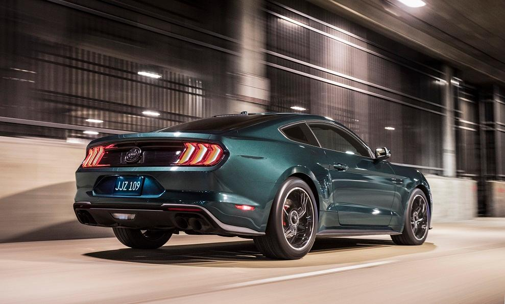 2019 Ford Mustang Bullitt. Source: Ford