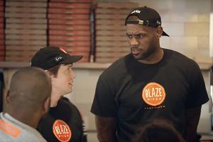 LeBron James Thinks Blaze Pizza Is a Slam Dunk