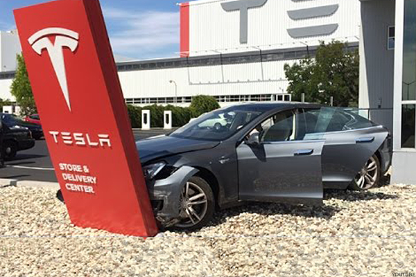 Tesla's Explosive Stock Price Now Deserves to Crash Hard