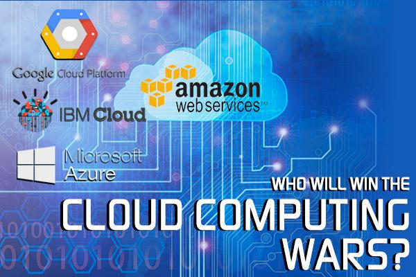How Amazon, Microsoft, Google and IBM Battle for Dominance in the Cloud