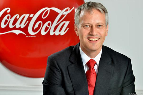 Coca-Cola CEO James Quincey.