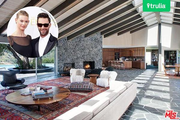 5. Adam Levine and Behati Prinsloo's Beverly Hills Mansion