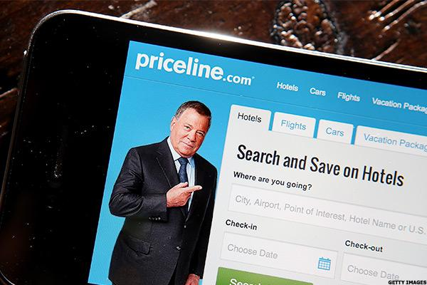 Gaps All Over the Place as Priceline Climbs