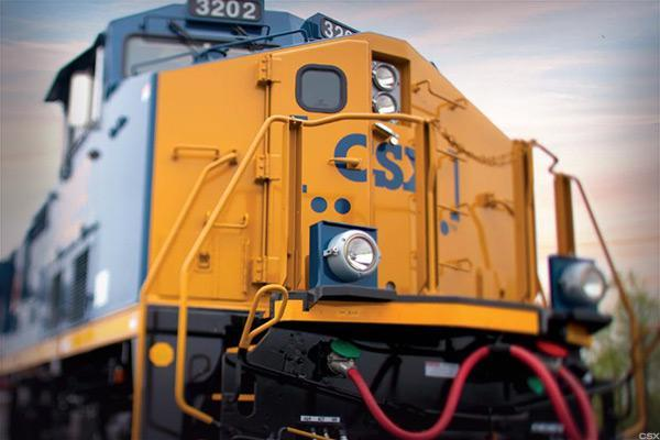 CSX Profit Rise Lifts Shares as Harrison Plots Turnaround