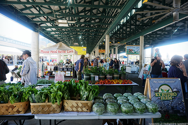 Market House at the Nashville Farmers' Market