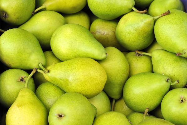6. Pears