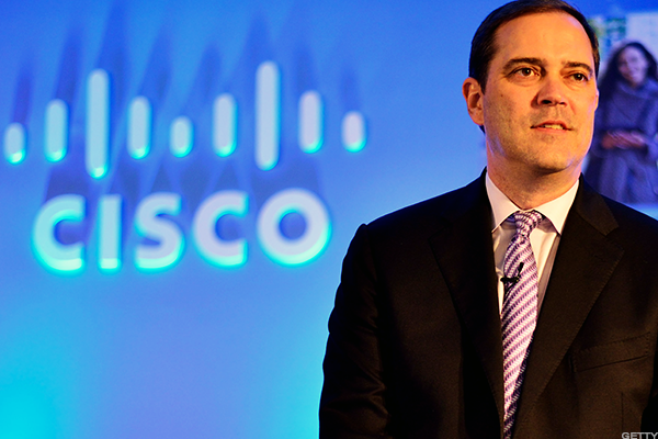 Cisco Systems CEO Chuck Robbins