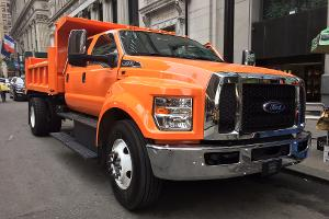 Go Inside This Monstrous Six-Ton Ford Dump Truck You Don't Need a Special License to Drive