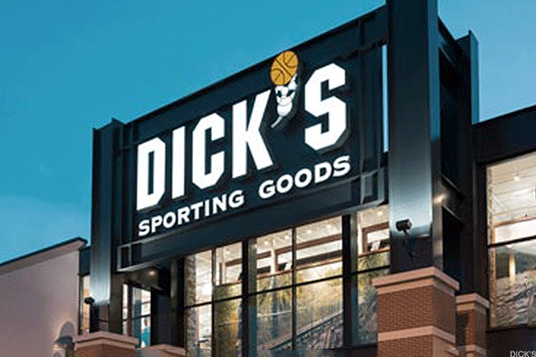 Dick's Sporting Goods Is Not in the Strike Zone