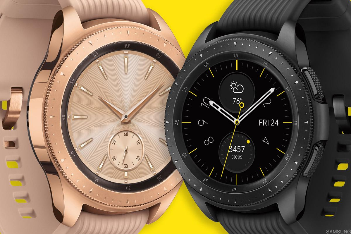 The new Galaxy smartwatch looks more like a traditional watch than most other smartwatches.