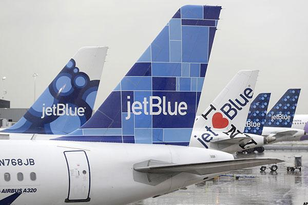 Jim Cramer -- Investors Sticking With JetBlue, Airlines