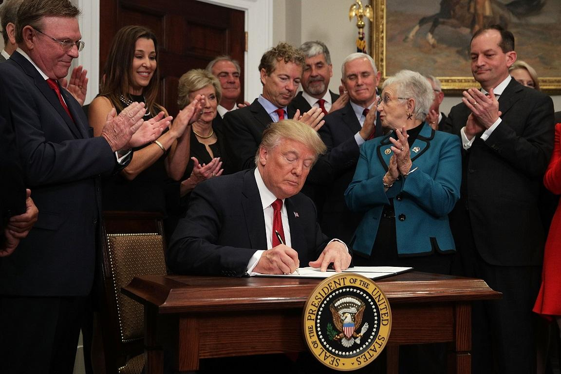 President Trump Signs Executive Order To Promote Healthcare Choice.