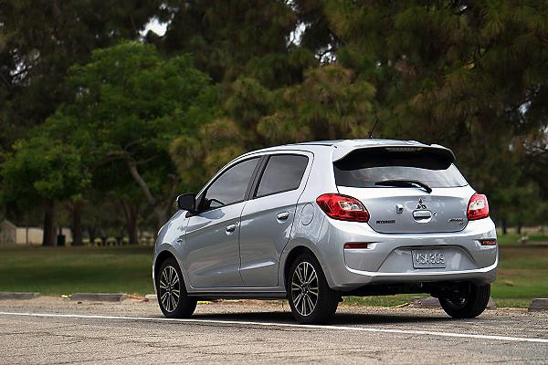 2019 Mitsubishi Mirage and Mirage G4, Manual