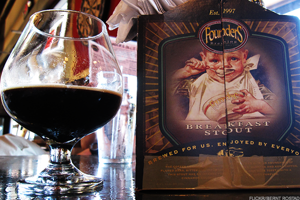 15. 2014 Founders Brewing Company Canadian Breakfast Stout