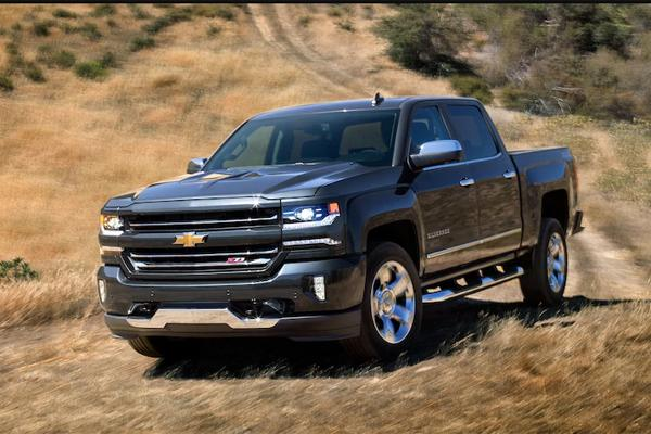 Pickup Trucks: Chevrolet Silverado 1500