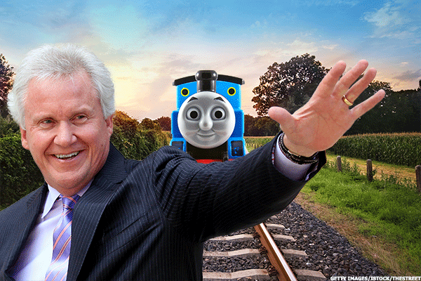 General Electric Makes Thomas the Tank Engine a Reality