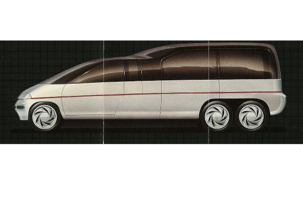 Plymouth Voyager III, 1989