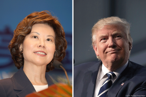 Chao's Role at Wells Fargo Questioned After Trump Nomination as Transportation Secretary