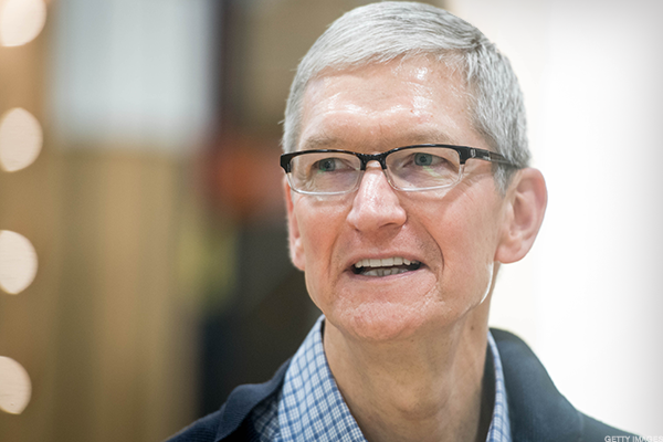Apple CEO Tim Cook: $144,865,519